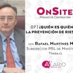 Prevención de riesgos con Rafael Martínez Mesas