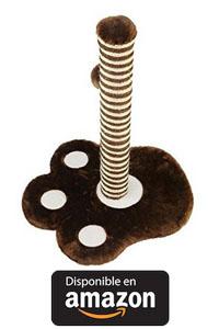 Rascador Gatos Juguetes Gatos con una Bola con material rugoso que le ayudará a afilarse las uñas 35 * 33 * 41 cm.