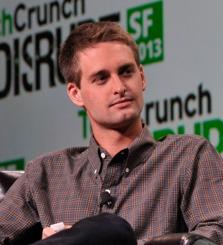 Evan Spiegel (IMAGE: TechCrunch)