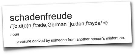 Schadenfreude definition