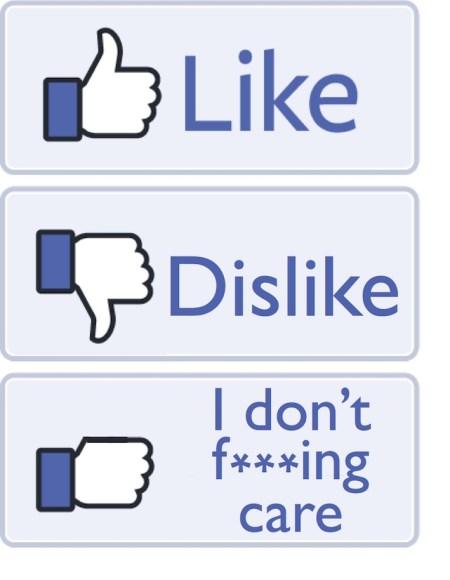 Social media fed up
