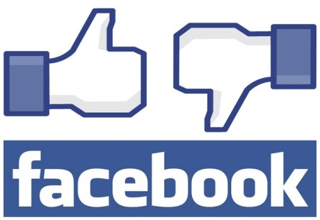 Facebook like and unlike