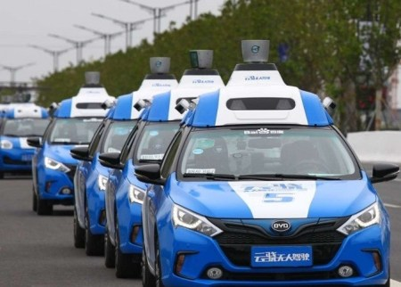 Baidu self driving cars (IMAGE: Baidu)
