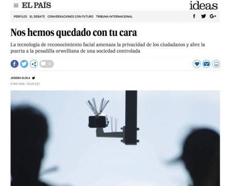 Nos hemos quedado con tu cara - El País