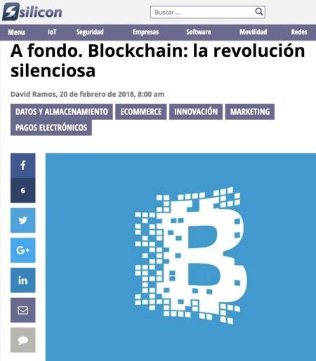 Blockchain: la innovacion silenciosa - Silicon.es