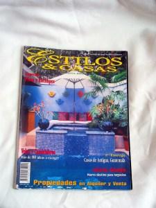 Estilos y Casas Costa Rica Magazine. Article about Enriquillo Amiama.