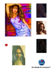 Madeline. Digital art by Enriquillo Amiama artist.