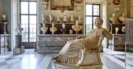 escultura romana Museos Capitolinos