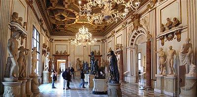 sala palazzo Nuovo Museos Capitolinos