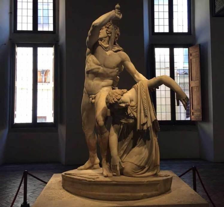 Galata Suicida escultura en Palacio Altemps