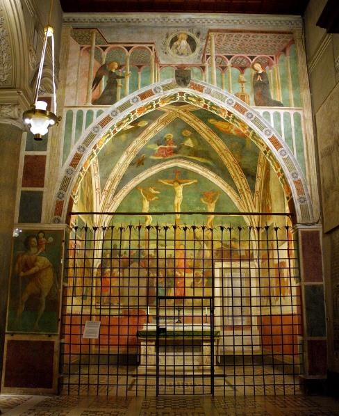 Basílica San Clemente Roma capilla Castiglioni