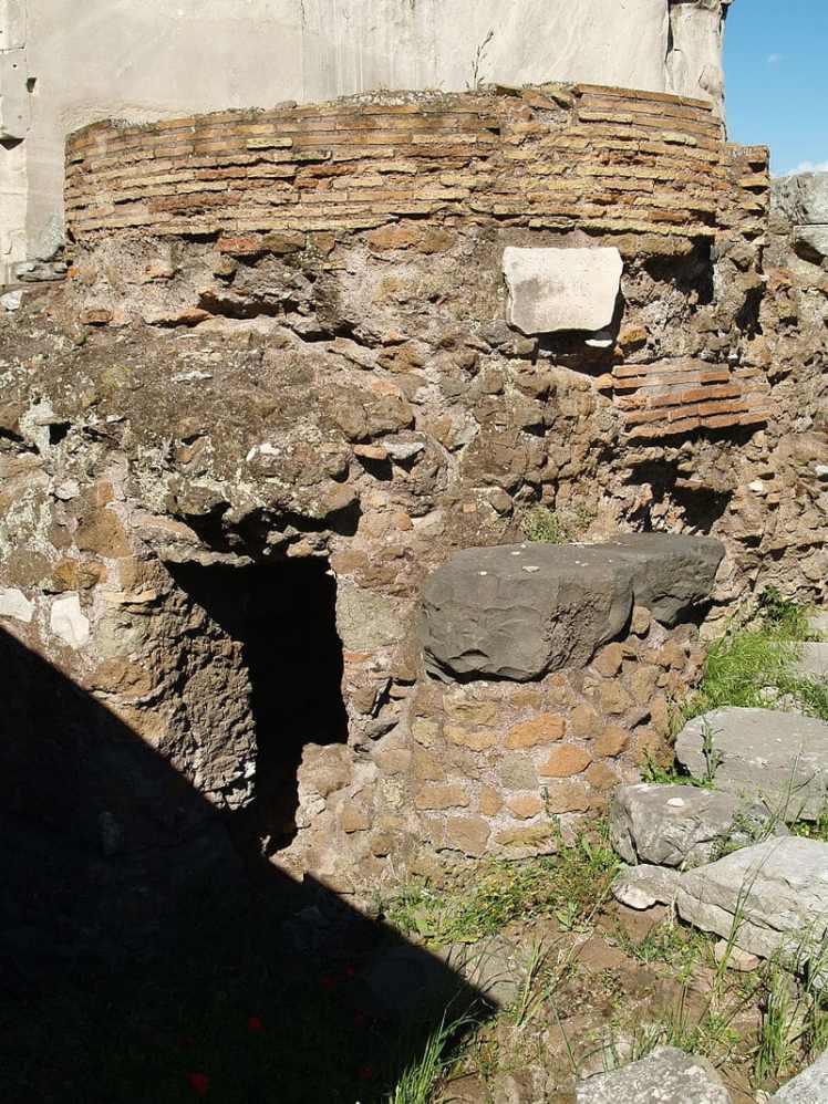 umbilicus urbis en el foro romano
