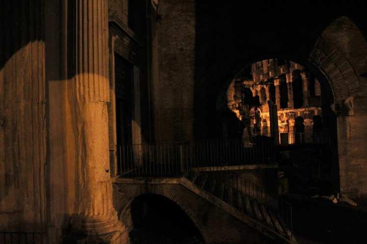 barrio judio ghetto de roma noche