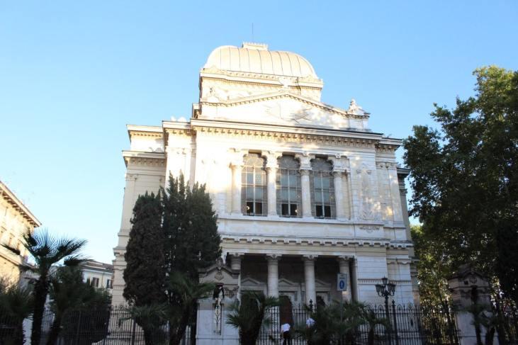 Sinagoga en el Ghetto de Roma
