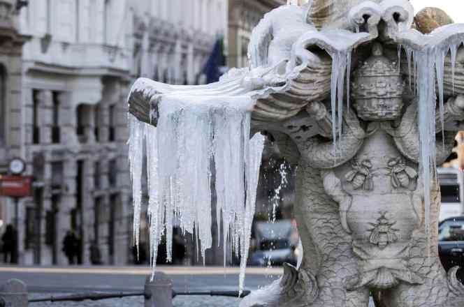 El clima en Roma durante el invierno
