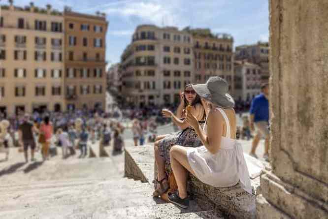 El clima en Roma durante el verano