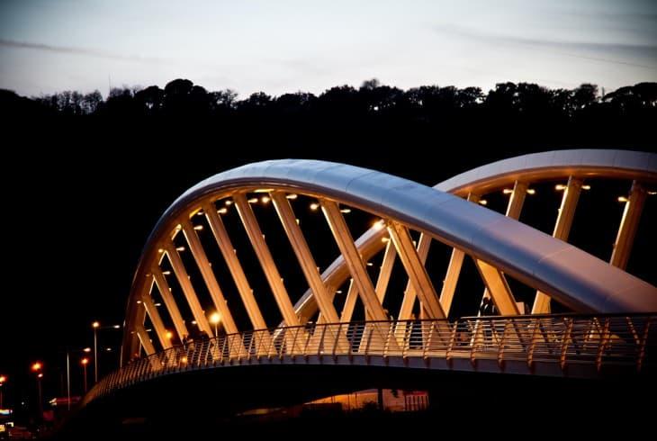 puente musica lugares romanticos en roma