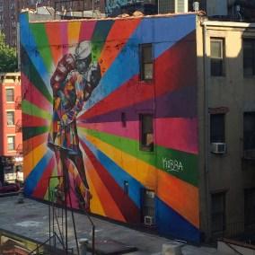 Graffiti sur la Highline