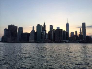 Manhattan vu de Brooklyn