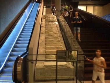 Escalier de sortie d'une des Twin Towers