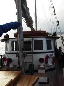Sur le Congola Boat pour notre première plongée