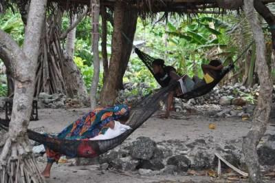 La vie tranquille sur l'île de Vao au Vanuatu