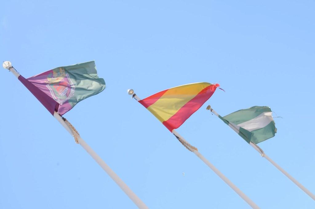 castillo-de-gibralfaro-drapeaux