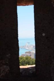 Meurtrière du Castillo de Gibralfaro