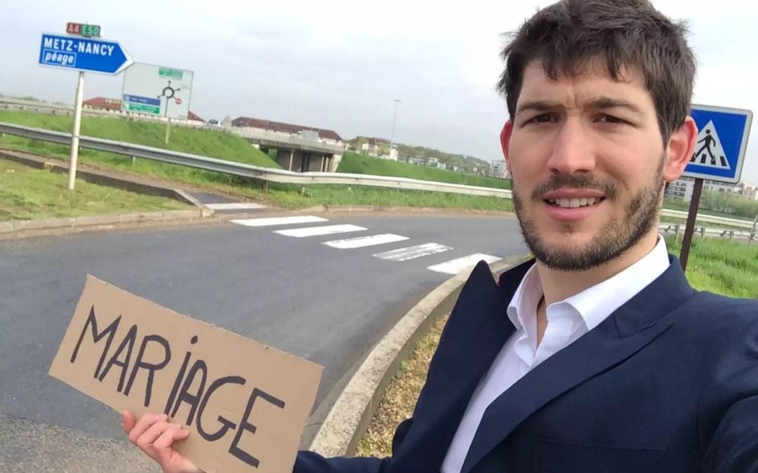Objectif mariage à Dresde, 1000 kms en stop et en costard 1ère partie