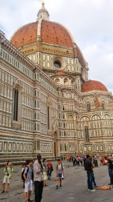 Place du dôme à Florence