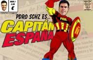 Mierda!: Otro antichavista que se acaba de secar, el presidente Pedro Sánchez, quien plagió su tesis de doctor y ahora tendrá que dimitir...