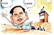 El narco Marco Rubio está indignado porque Venezuela interfiere demasiado el narcotráfico hacia EE UU...