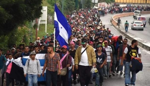 Gringos provocan la diáspora pero luego les cae a plomo a los desplazados...