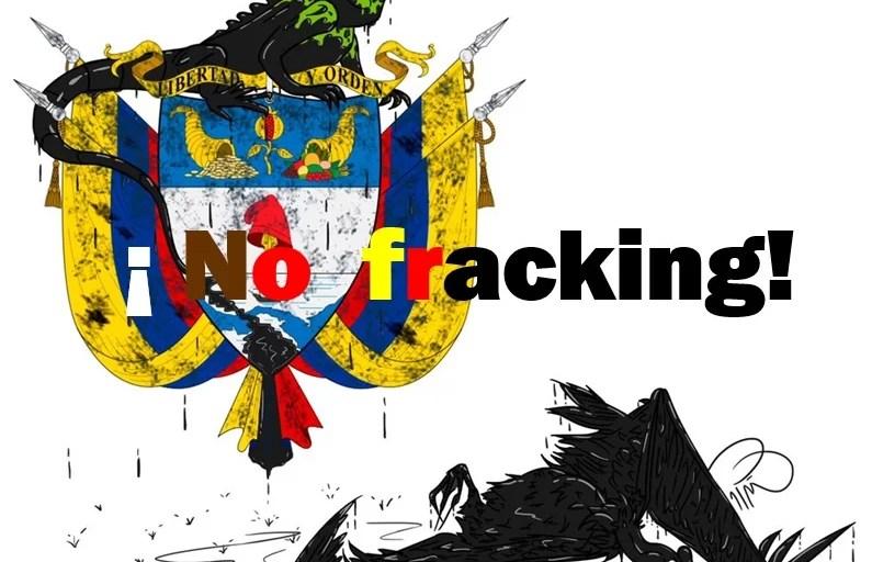 La dura pelea contra el fracking en Colombia...