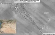 Carajo!, miren cómo los terroristas gringos roban petróleo sirio...