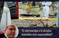 El cerdo Julio Borges, ya está diciendo que el atentado en Bogotá es culpa de Venezuela... Siguen con el plan de montar un falso positivo y así desatar una guerra contra nuestro país...