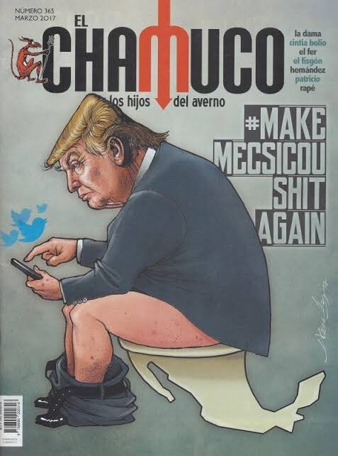 Mierda: Miren la histérica cagaleta de Trump!!!!