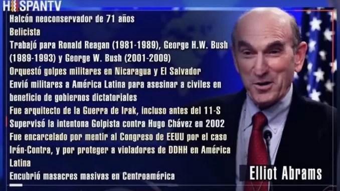 La sombría historia de Elliott Abrams en Latinoamérica...