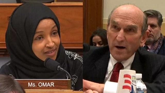 (VIDEO) Legisladora estadounidense desnuda pasado criminal de Elliott Abrams