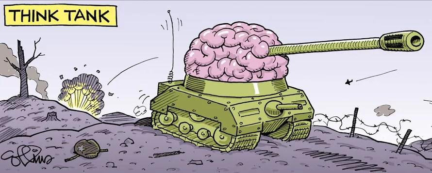 """Los """"Thinks"""" que se ahogaron en un """"Tank"""": Ayuda humanitaria para Trump, please!..."""