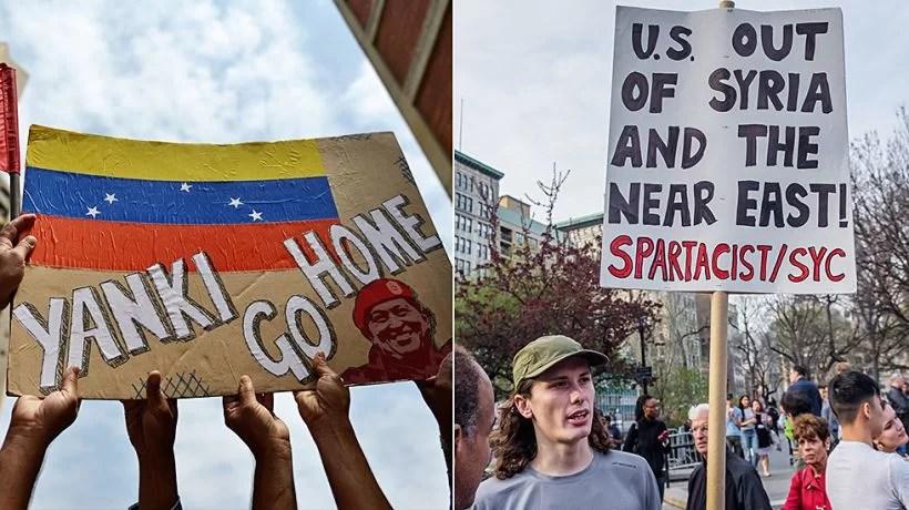 Venezuela no es Siria, pero las tácticas de guerra son las mismas