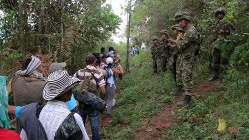 "La terrible tragedia colombiana  que la llamada ""comunidad internacional"" no mira…"