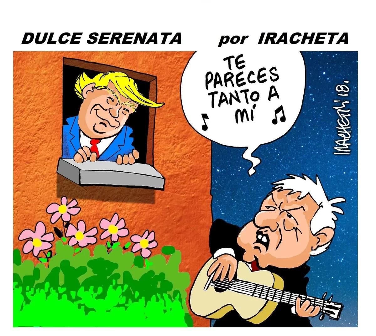 Qué triste, pero a AMLO se achicopaló, y lo que viene para México es siempre lo mismo: sumisión y cobardía...