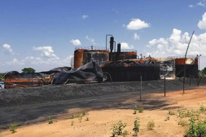 Espantoso!: Miren el PAVOROSO desmantelamiento en la faja petrolífera del Orinoco... Coño, qué pasado?...