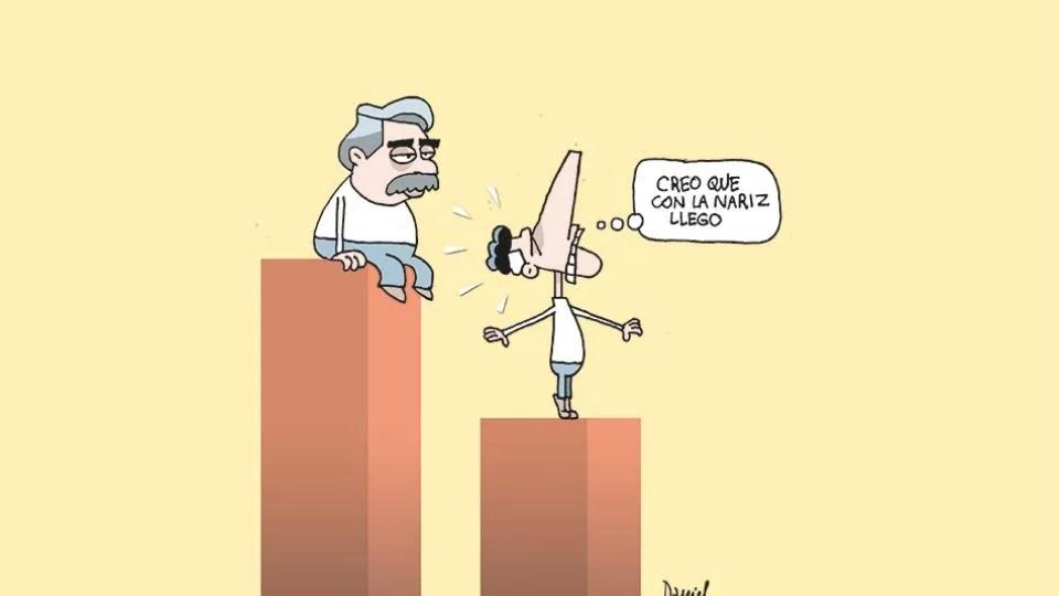 Última encuesta en la  Argentina: Macri pierde por  21 puntos de ventaja...