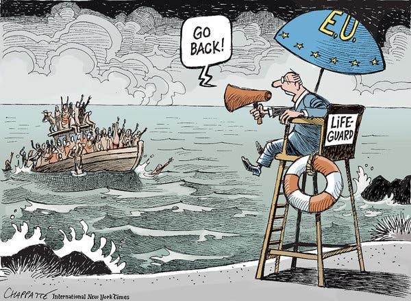 A cuidarse de la Unión Europea!: monstruosamente racista, vil y depravada…