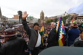 APOYO SOLIDARIO AL LEGÍTIMO PRESIDENTE DE LA PATRIA HERMANA DE BOLIVIA EVO MORALES AYMA.