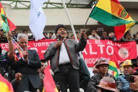 Fascistas bolivianos, con el apoyo yanqui, intentarán un golpe de Estado a Evo Morales...