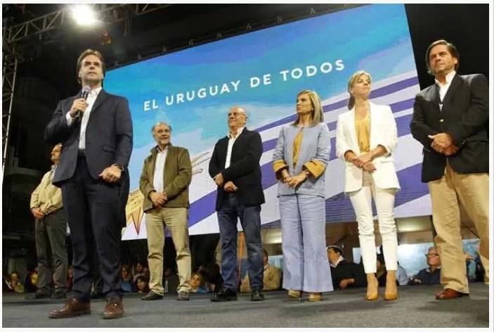 Uruguay: Sin cómputo oficial candidato presidencial nombra ministros