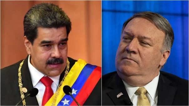 Pompeo teme que se prenda un peo (con Venezuela)...